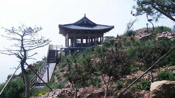 洛阳万安山山顶公园 十 一 试开园图片